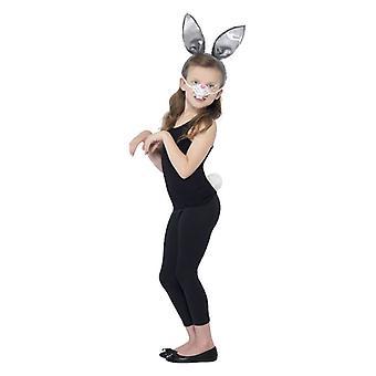 Mädchen Bunny Kit Fancy Dress Zubehör