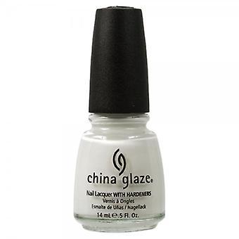 Kina glasur neglelak-hvid på hvid