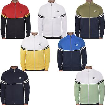 Sergio Tacchini Mens Orion Casual Retro Full Zip Tracksuit Track Jacket Top