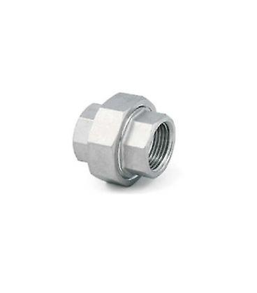 Conical Union 3/8 Inch Bsp Female - Female A4 (t316) Marine Grade Stainless Steel