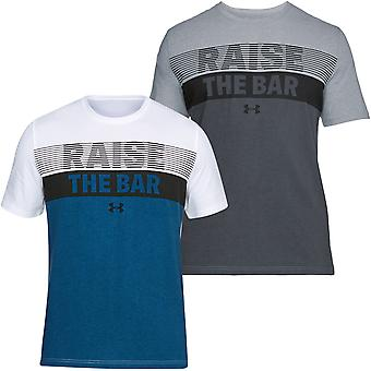 Under Armour Mens Sollevare il Bar SS T Camicia
