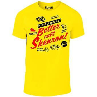 T-shirt de shenron d'appel de Men-apos;s