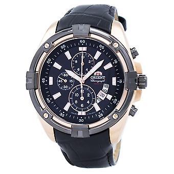 Orient Chronograph Quartz FTT0Y004B0 mannen ' s horloge