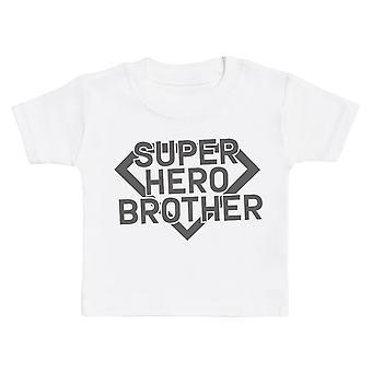 Superhero Brothers - Matching Kids Set - Bodysuits & T-Shirts - Gift Set