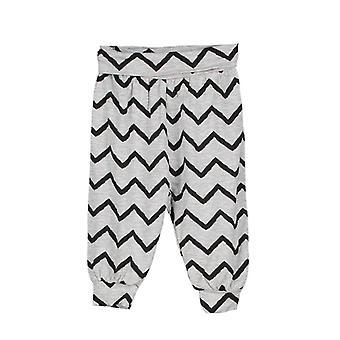 Spodnie dla niemowląt śmigają gråmelange/czarny