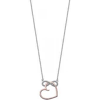 Necklace and pendant Lotus Silver MOMENTS LP1819-1-2 - necklace and pendant MOMENTS money woman