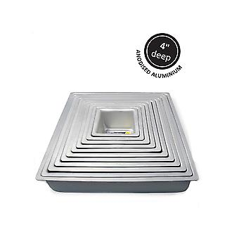 PME Square Cake Tin 8-quot; X 4-quot; (203mm X 101mm)