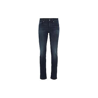 Hugo Boss Delaware Bc Slim Fit Dark Blue Jeans