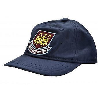 West Ham United FC Toddlers Classic Crest Baseball Cap
