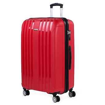 Big Suitcase for Rigid Travel With Double Wheels Made of High Resistance Polypropylene From the Itaca Brand