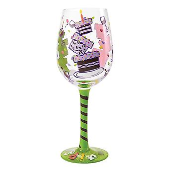 Lolita Tipsy Birthday Wine Glass