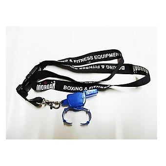 Morgan Pea Less Blaster Whistle Dlx Lanyard
