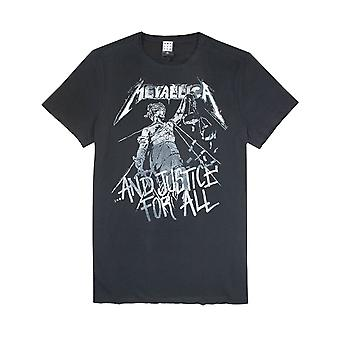 Wzmocniona Metallica Justice For All Mens T-Shirt