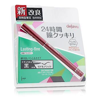 Lasting fine pencil eyeliner real black 207259 0.15g/0.005oz
