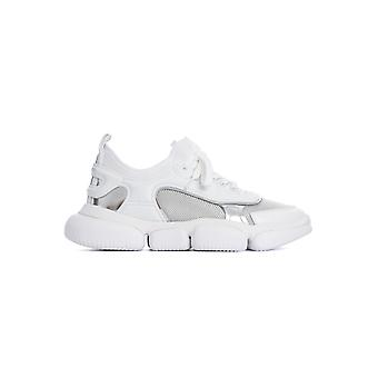 Moncler 4m7014002s6m102 Women's White Nylon Sneakers