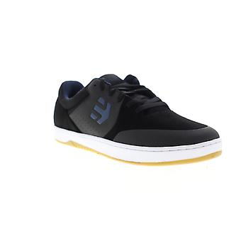 Etnies Marana Mens Black Suede Low Top Lace Up Skate Sneakers Shoes