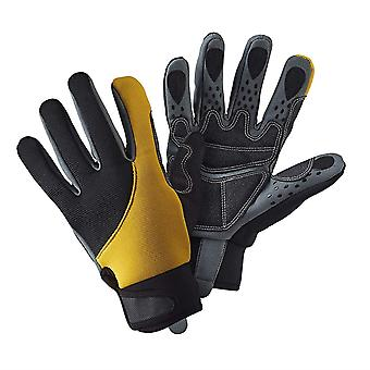 Mens Gardening Large  Gloves Advanced Grip and Protect Pads Strong Durable Material