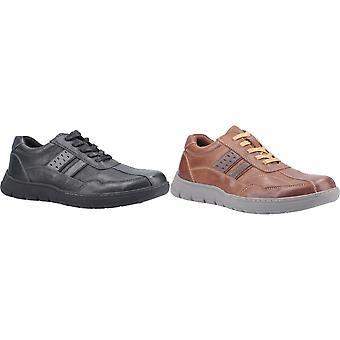 Fleet & Foster Mens Harrison Lace Up Leather Shoe