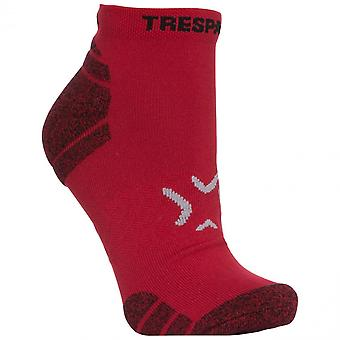 Trespass Mens Ingrid Non Slip Breathable Ankle Socks