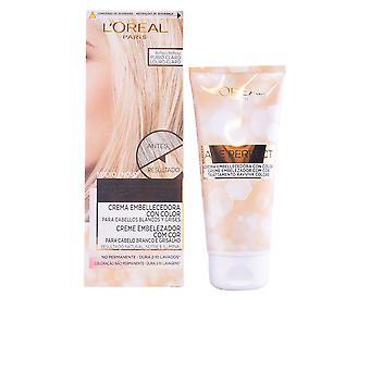 L ' Oreal maquillaje edad perfecta Crema Embellecedora de Color Con #1-rubio para mujeres