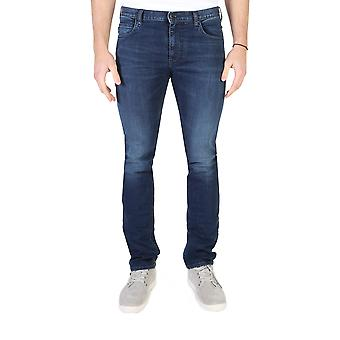 Armani Jeans Bărbați Original All Year Jeans Blue Color - 58383