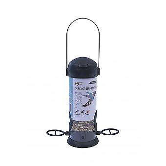 Henry Bell Ready To Feed Filled Superior Seed Mix Bird Feeder