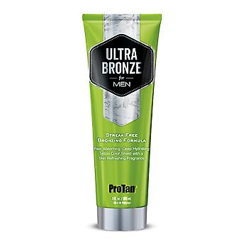 Pro Tan Ultra Dark Bronze For Men Fast Absorbing Deep Hydrating Tanning Lotion