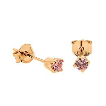 Bijoux pour tous Woman brass Ronde zirconium oxide 1300147-RO.