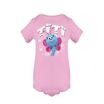 Ti-Ti The Butterfly Bichikids Baby's Bodysuit