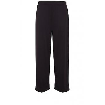 b.young Black Wide Leg Culottes