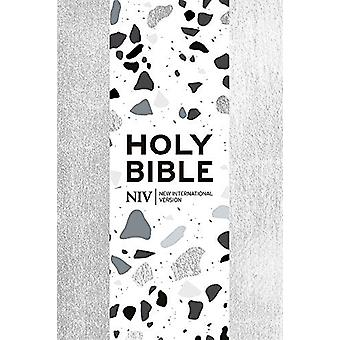 NIV Pocket Silver Soft-tone Bible med Zip av New International Versi