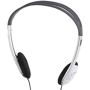 Vivanco SR3031 Hi-Fi On-ear headphones On-ear Black, Silver