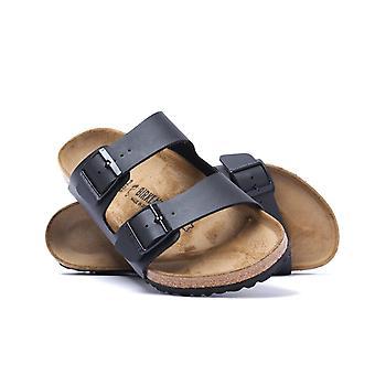 Birkenstock Arizona Black Birko-Flor Sandals