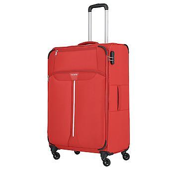 travelite Speedline Trolley L, 4 wielen, 77 cm, 89 L, rood