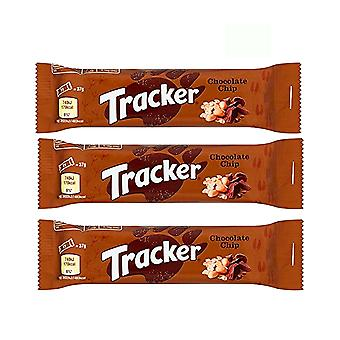 Tracker Chocolate Chip Snackbar 12 x Bars Cereal Energy Flavour Tasty