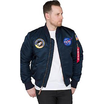 Alpha Industries MA-1 VF NASA Flight Jacket Kék 29