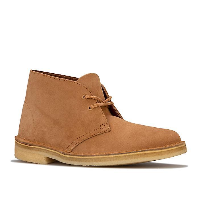 Women's Clarks Originals Desert Boots in Brown