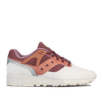 Men's Saucony Grid SD HT Trainers in White