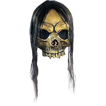 Open Gold Skull For Halloween