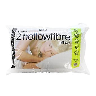 Easy Comfort Hollowfibre Pillows (Pair)
