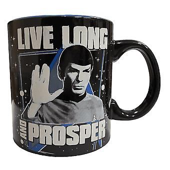 Star Trek Live Long and Prosper 20 Ounce Mug