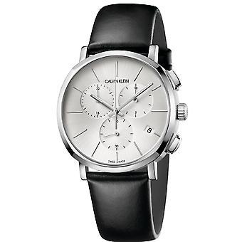 Calvin Klein K8Q371C6 Posh Chronograph Quartz Silver Dial Men's Watch