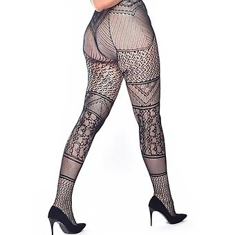 Pamela Mann Lace Panelled Tights