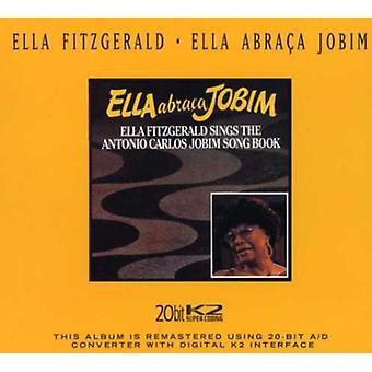 Ella Fitzgerald - Ella Abraca Jobim [CD] USA import