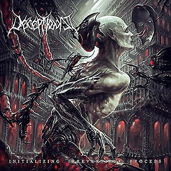 Deceptionist - Initializing Irreversible Process [CD] USA import