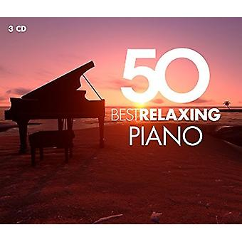 Various Artist - 50 Best Relaxing Piano [CD] USA import
