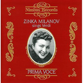 Zinka Milanov - Zinka Milanov Sings Verdi [CD] USA import