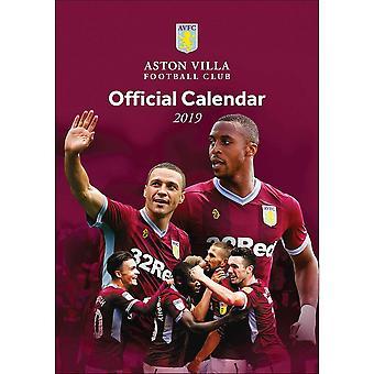 Aston Villa FC A3 2019 Calendar