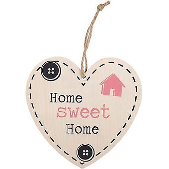 Jotain erilaista Home Sweet Home riippuva sydän merkki