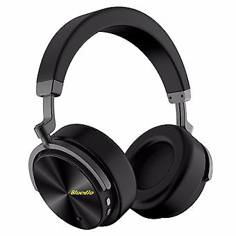Bluedio T5 Bluetooth 4,2 ANC hoofdtelefoon zwart